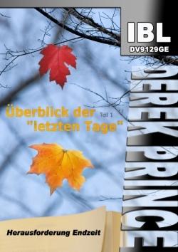 """Überblick der """"letzten Tage"""" (Teil 1)"""