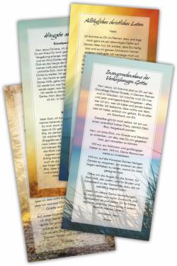 12 Gebetskarten - Komplettset